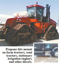 Propane Injection For Farm Trucks